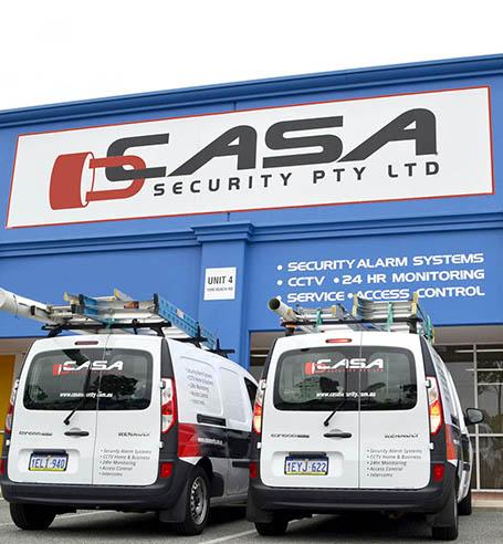 alarm systems repair vans